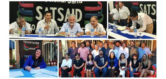 Asumieron las Comisiones Ejecutivas de las Seccionales Salta y Jujuy