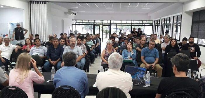 Plenario de Secretarios Generales en Moreno