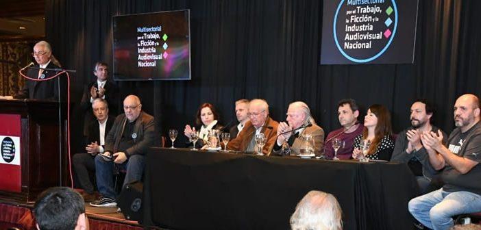 Comenzó el 3º Congreso Nacional por el Trabajo, la Ficción y la Industria Audiovisual