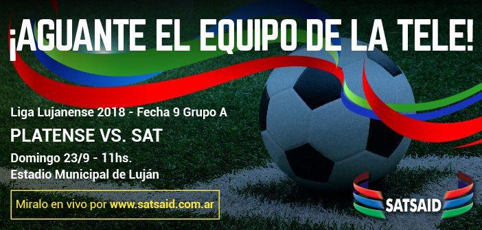 Mirá en vivo el partido contra Platense por la Liga de Luján