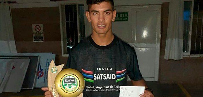 Felicitamos a Gastón Gordillo por su participación en la Maratón de los Dos Años