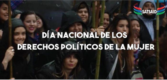 23 DE SEPTIEMBRE- DÍA NACIONAL DE LOS DERECHOS POLÍTICOS DE LA MUJER