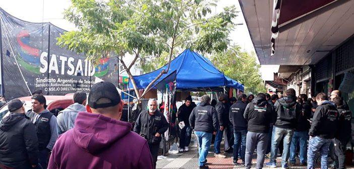Movilización en Telered por incumplimientos del convenio colectivo
