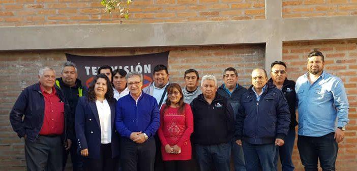 Horacio Arreceygor de visita en la Seccional Jujuy