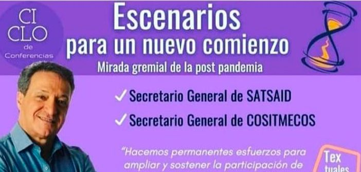 HORACIO ARRECEYGOR EN EL ENCUENTRO CON MUJERES SINDICALISTAS