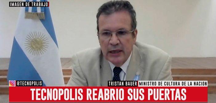 IMAGEN DE TRABAJO CON: ARNALDO DUBIN Y TRISTÁN BAUER