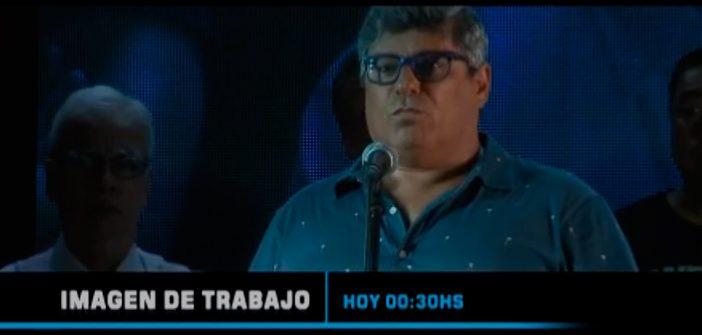 HOY DESPUÉS DE LA MEDIANOCHE, IMAGEN DE TRABAJO CON ALFREDO VALENTE Y PABLO BIRO