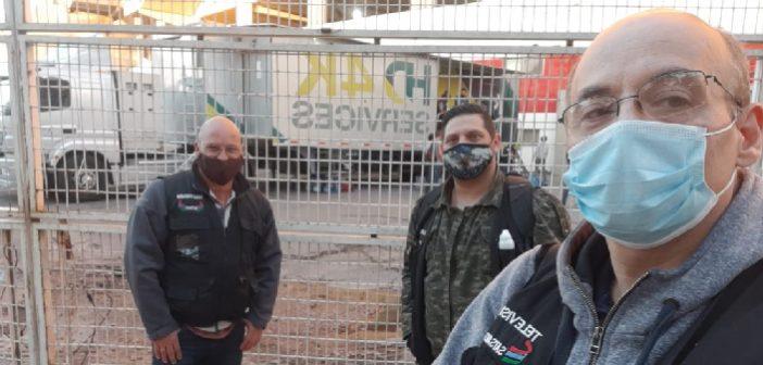 EL SATSAID REALIZÓ UN RELEVAMIENTO DE MÓVILES DE FÚTBOL EN RACING Y RIVER
